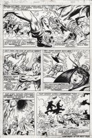 BROWN, BOB - Avengers #115 pg 9, Avengers vs Defenders Wars - Team battles in England Comic Art