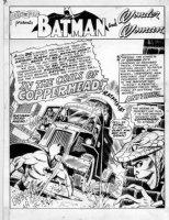 BROWN, BOB - Brave and the Bold #78 splash page 1, 1st Copperhead Comic Art