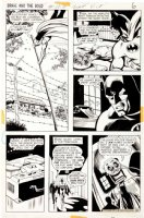 BROWN, BOB - Brave and the Bold #103 pg 6, Batman Comic Art