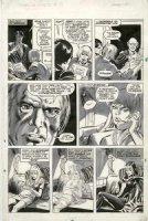 BROWN, BOB - Marvel Preview Mag. #12 pg 15, Dracula's daughter Lilith transformation panels 1976-1977 Comic Art