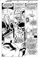 LaROCQUE, GREG - Powerman & Iron Fist #104 pg 19, Powerman & Iron Fist in copter Comic Art