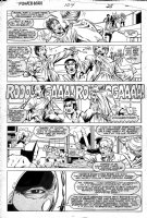 LaROCQUE, GREG - Powerman & Iron Fist #104 pg 25, PM & Iron Fist Comic Art