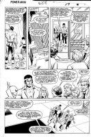 LaROCQUE, GREG - Powerman & Iron Fist #108 pg 17, PM &  Iron Fist teamup Comic Art