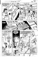 LaROCQUE, GREG - Powerman & Iron Fist #108 pg 20, PM on the job Comic Art