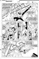 LaROCQUE, GREG - Powerman & Iron Fist #108 pg 29, PM & Iron Fist team-up to fight Comic Art