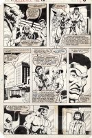 MIGNOLA, MIKE & ERNIE CHAN - Power-Man & Iron Fist #96 pg 6, Luke Cage & Iron Fist & Colleen goes to hospital Comic Art