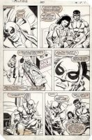 MIGNOLA, MIKE & ERNIE CHAN - Power-Man & Iron Fist #100 pg 7, Iron Fist recovers + Power Man & female doctor Comic Art