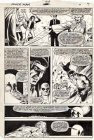 LaROCQUE, GREG - Powerman & Iron Fist #104 pg 4, Iron Fist & Luke Cage in sewer Comic Art