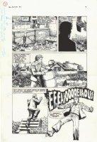 RIDGWAY, JOHN - Hellblazer #3 pg 8, Alan Moore' Constantine Comic Art