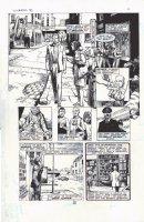 RIDGWAY, JOHN - Hellblazer #3 splashy pg 5, Alan Moore' Constantine Comic Art