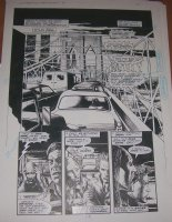 RIDGWAY, JOHN - Hellblazer #1 pg 23, Alan Moore' Constantine, 1st Issue Comic Art