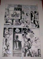 RIDGWAY, JOHN - Hellblazer #5 pg 12, Alan Moore' Constantine Comic Art