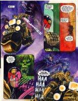 EZQUERRA, CARLOS - 2000 AD #675 painted pg, Judge Dredd Comic Art