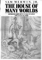 BRUNNER, FRANK -  House Of Many Worlds  Ace book cover pencil prelim 1983 Comic Art