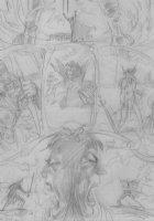 BRUNNER, FRANK - Elric pg 72, Heavy  Metal, pencil design Comic Art