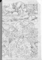 BRUNNER, FRANK - Quack (Dexter Duck) #1 pg 7 pencil design on vellum Comic Art