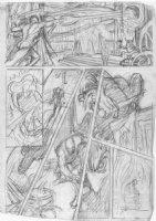 BRUNNER, FRANK - Doctor Strange #1 pg pencil design on vellum Comic Art