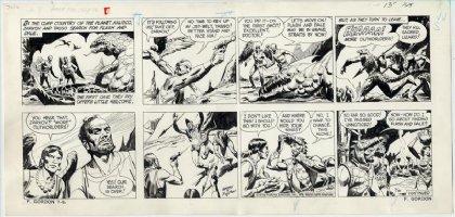 BARRY, DAN / Bob Fujitani FLASH GORDON Sunday 7-16 1978  Comic Art