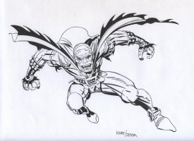ROYER, MIKE / based on JACK KIRBY pencils - Demon strikes Comic Art