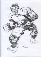 ROYER, MIKE / based on JACK KIRBY pencils - the Hulk Comic Art