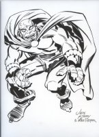 ROYER, MIKE / based on JACK KIRBY pencils - Demon stands Comic Art