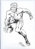 ROYER, MIKE / based on JACK KIRBY pencils - Lightray of New Gods Comic Art