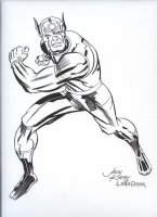 ROYER, MIKE / based on JACK KIRBY pencils - Orion of New Gods Comic Art