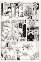 LaROCQUE, GREG - Flash #31 pg 7, Flash on murder case Comic Art