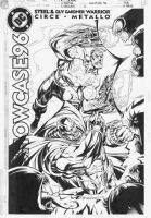 PORTER, HOWARD - DC Showcase 96 #2 cover, Guy Gardner Warrior & Steel Comic Art