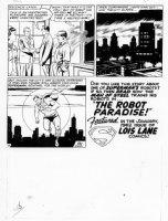 PLASTINO, AL & STAN KAYE - Action Comics #282 page 11 Comic Art