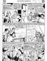 PLASTINO, AL & STAN KAYE - Action Comics #282 page 7 Comic Art