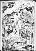 DUURSEMA, JAN - Arion #18 DC pg 19, splash, flood Comic Art