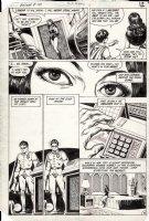 HOBERG, RICK / ALCALA - Batman #381 pg 9, Robin / Jason Todd & Nocturna Comic Art