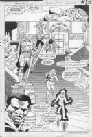 GIFFEN, KEITH / ERNIE COLON - Amethyst, Princess of Gemworld #15 pg 20 Comic Art