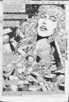 GIFFEN, KEITH / ERNIE COLON - Amethyst, Princess of Gemworld #16 pg 1 splash Comic Art