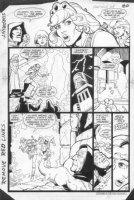 JURGENS, DAN - Amethyst, Princess of Gemworld #8 pg 17 Comic Art