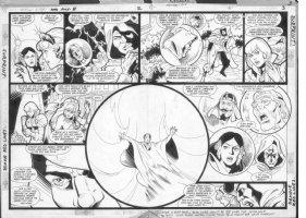 JURGENS, DAN - Amethyst, Princess of Gemworld #8 pgs 2-3 Comic Art