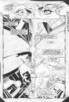 JURGENS, DAN - Amethyst, Princess of Gemworld #8 pg 20, semi-splash Comic Art