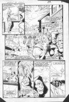 JURGENS, DAN - Amethyst, Princess of Gemworld #8 pg 22 Comic Art