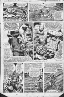 DAY, GENE / RON WILSON - Marvel Two-in-One #69 page, both Things, Major Astro, both time-lines Comic Art