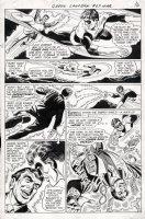 DILLIN, DICK - Green Lantern #67 pg 12, GL flies & uses ring 1969 Comic Art