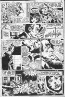 DILLIN, DICK - JLA #152 pg, protests Comic Art