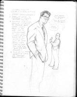 HUGHES, ADAM - Sketchbook 1999 page N Comic Art
