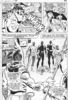 SPRINGER, FRANK / JOHNNY CRAIG - Nick Fury SHIELD #10 pg 15, semi-splash Comic Art