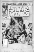 FRENZ, RON - Star Wars #71 cover, the search for Han Solo. Very rare cover Comic Art