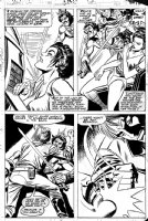 INFANTINO, CARMINE & WALT SIMONSON - Star Wars #54 pg 15, Luke & Princess Leia ala Dejah Thoris Comic Art