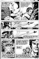 INFANTINO, CARMINE & WALT SIMONSON - Star Wars #54 pg 21, Luke & Princess Leia, Han & Chewie + Lando Comic Art