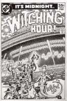 CHAN, ERNIE - The Witching Hour cover, unpublished Comic Art