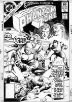 COLAN, GENE - Phantom Zone #2 cover (Superman and Supergirl) Comic Art