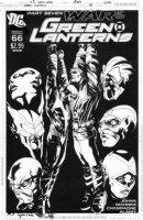 SEPULVEDA, M.A. - Green Lantern #66 cover, War of the Green Lanterns Comic Art
